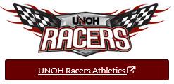 UNOH Racers Athletics Logo