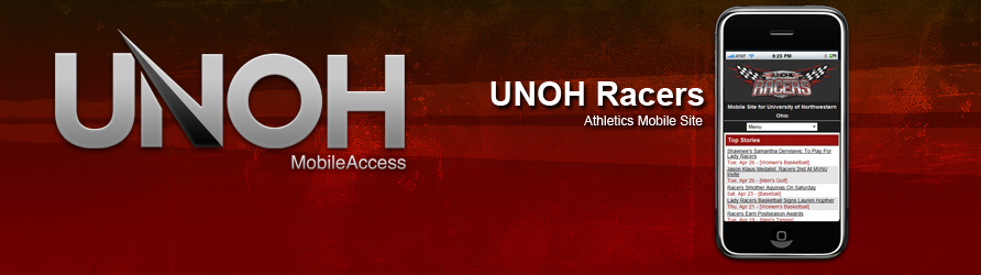 UNOH Racers Mobile Site